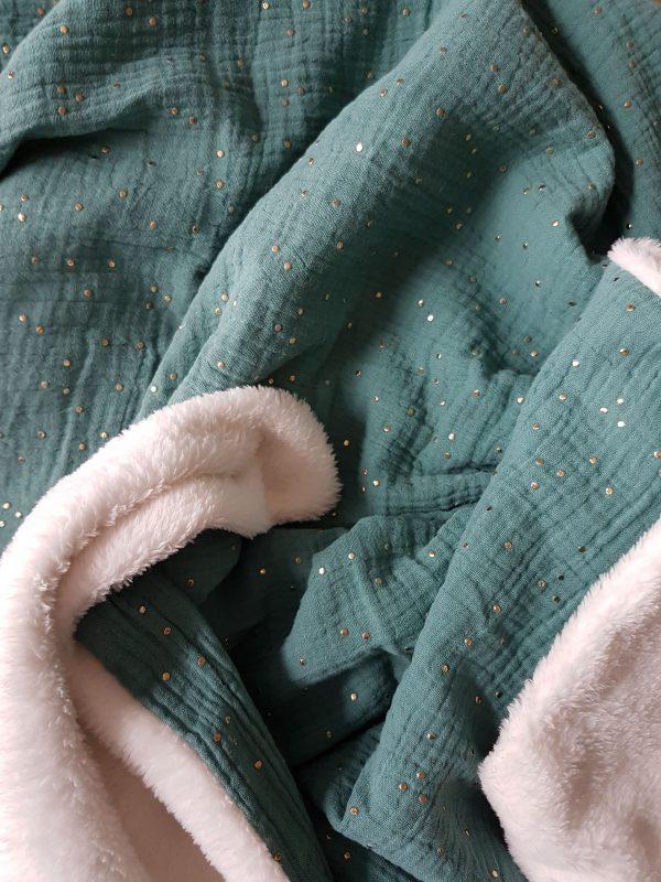 couverture double gaze de coton bébé